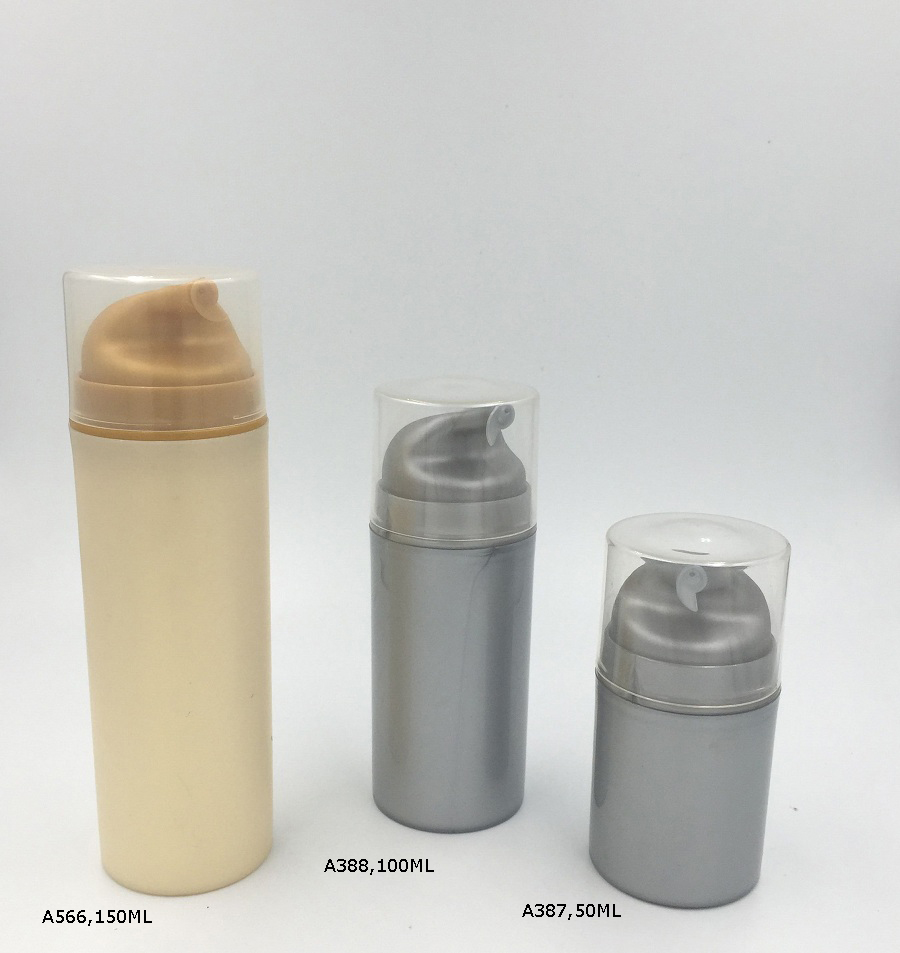 Plastic Vacuum Bottle Lotion Bottle