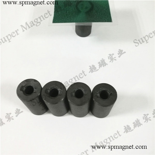 FR18.2x35mm hard ferrite magnets diametrical magnetization