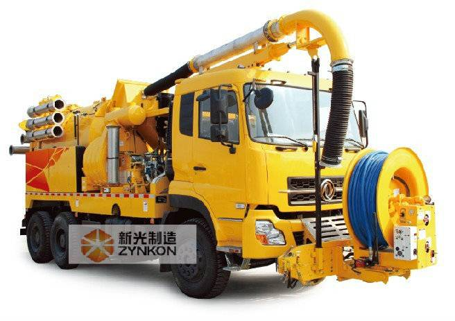 WX5250GST (VAC CON) Combined sewer cleaning Vehicle