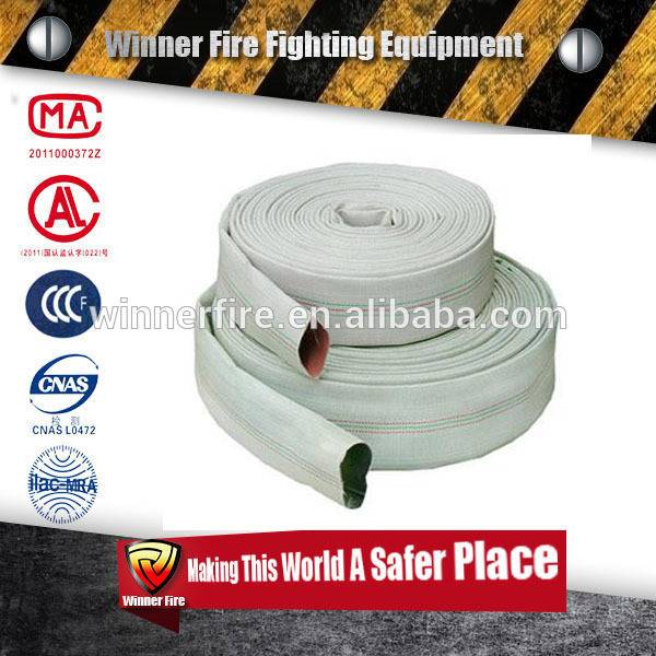 Lightweight and Duraline 6 inch Fire Hose with high working pressure