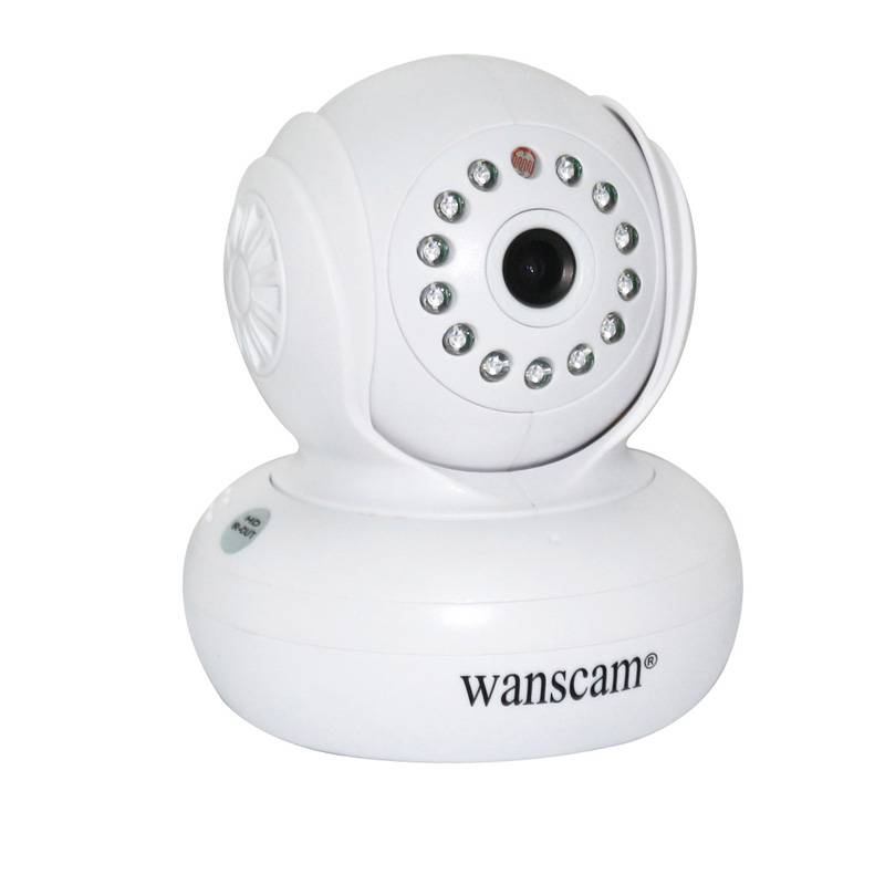 Baby Monitor Home Security System Wanscam HW0021 PTZ IR-cut Wifi Indoor IP Camera
