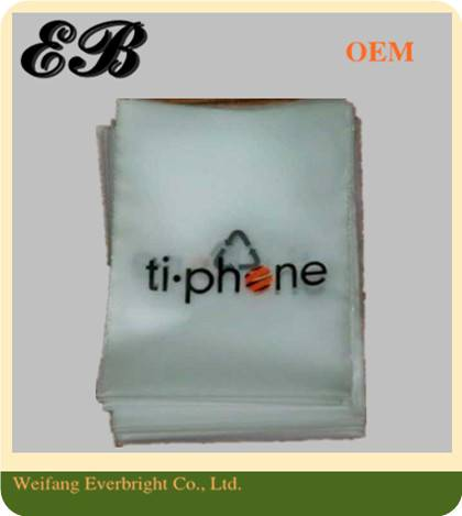 Clear Flat Shopping Bag,Plastic Packaging Bag,PE Packing