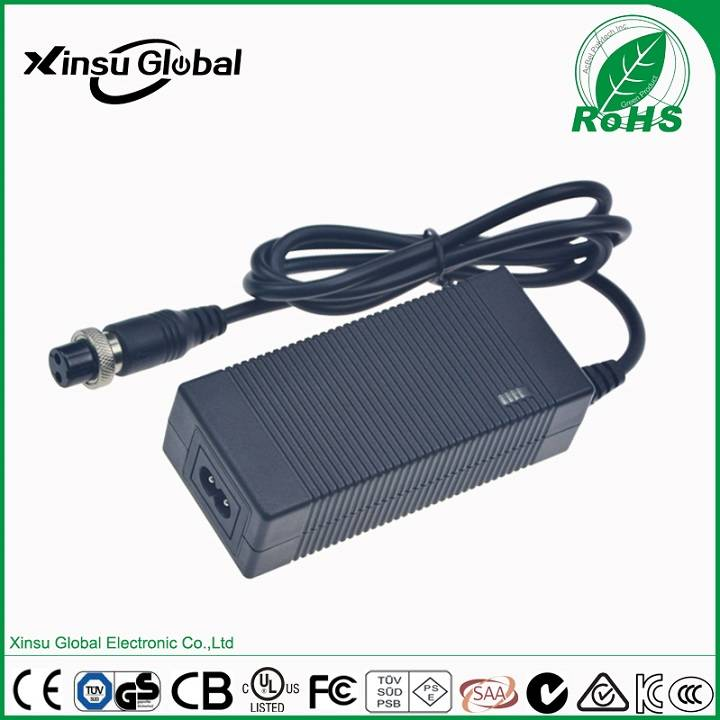 29.4V 2A li-ion battery charger for 25.9V Li-ion/Poly battery pack