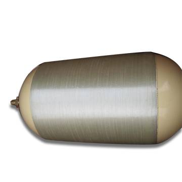 Type 2 CNG Composite Cylinder, Used for Vehicles, Hoop-wrapped with Steel Liner