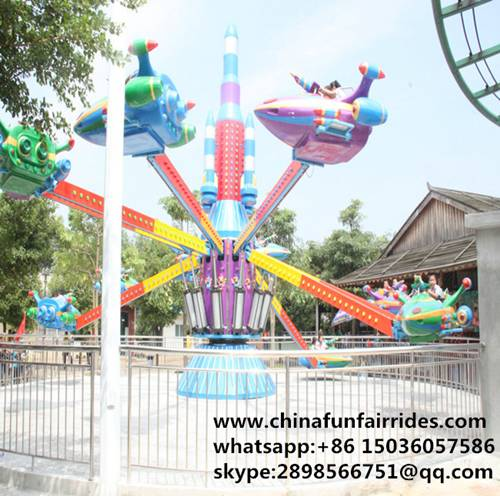 On Promotion! 10 Arms Theme Park Amusement Self-Control Plane