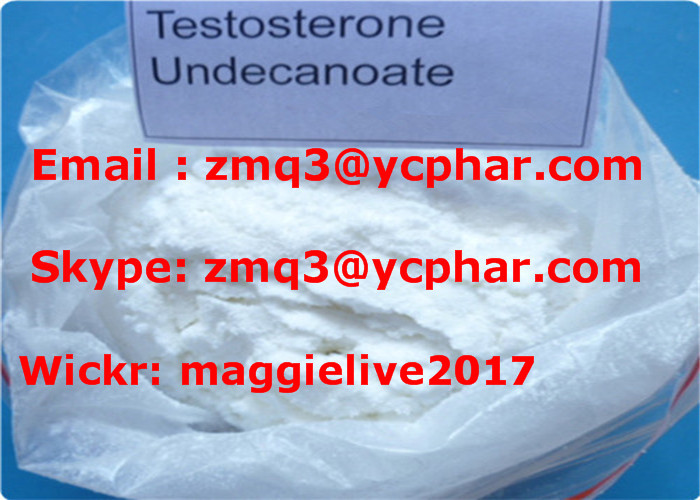 Anabolic Raw Material Andriol Steroid Powder 5949-44-0 Testosterone Undecanoate