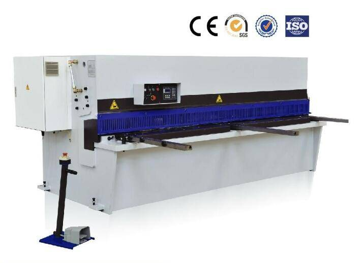 High-efficiency Pendulum shear machine with oversea service provided