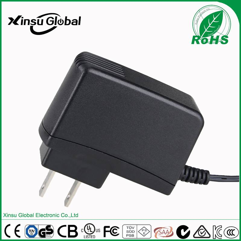 Constant voltage 6V2A AC/DC power adapter with UL cUL CE PSE RCM GS CCC