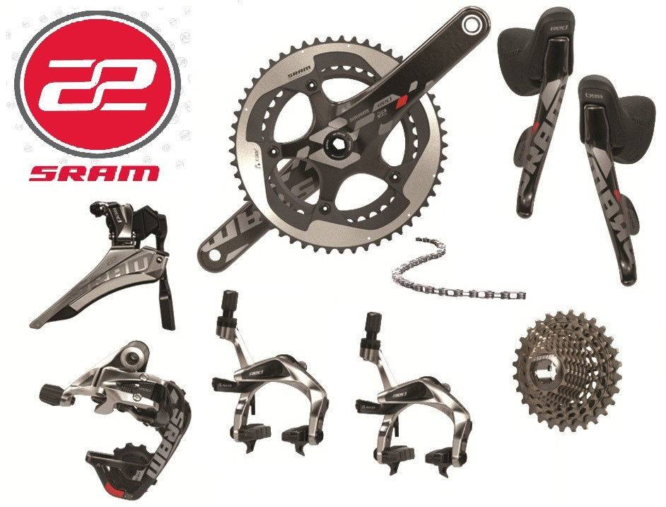 2014 SRAM RED 22 11-speed 8-piece Full Groupset Non Ceramic BB-5339T 172.5mm