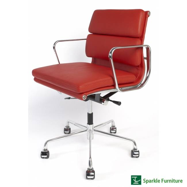 Eames low back soft pad management chair