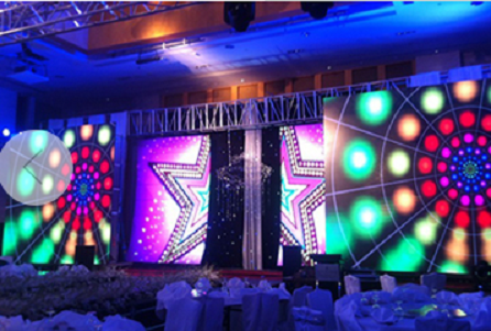 LED rental display