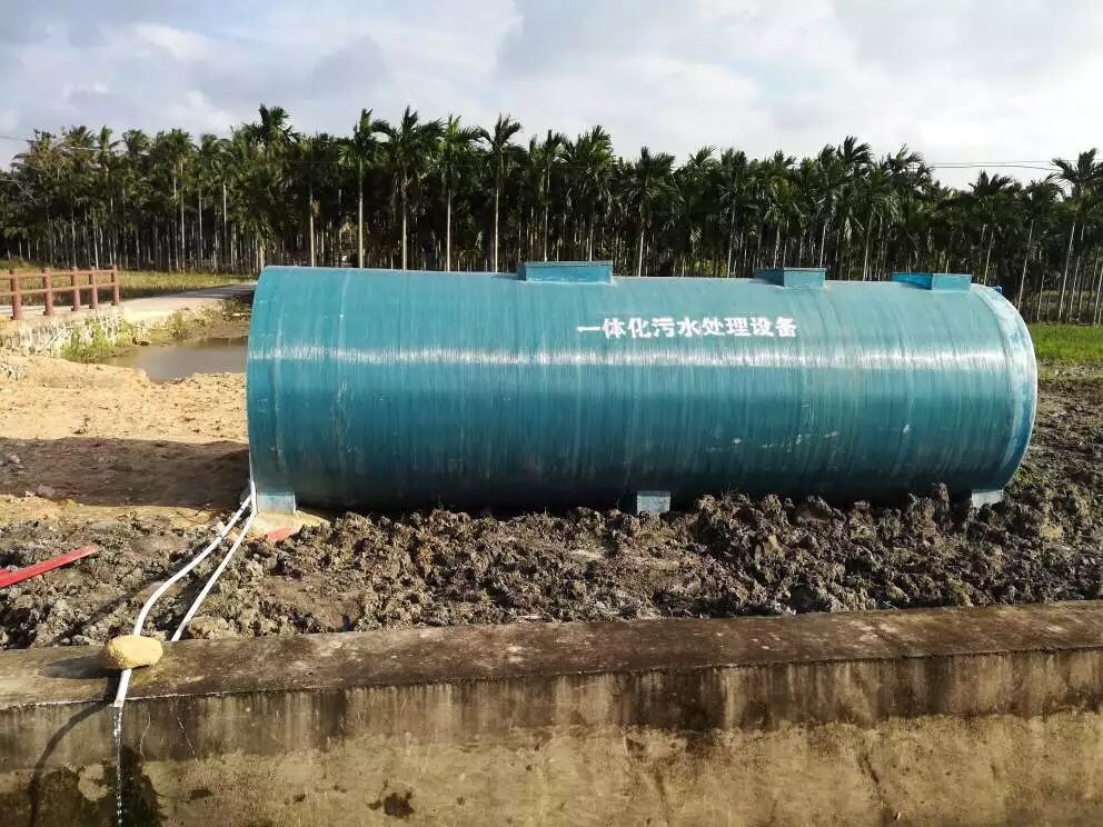Best quality carbon steel Waste Water Sewage Treatment Plant