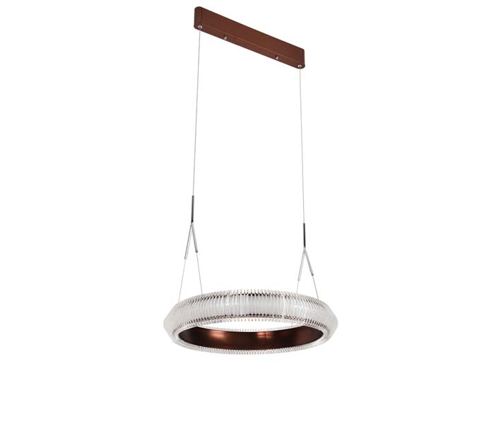 New Arrived Acrylic Hanging Light with Gold Color