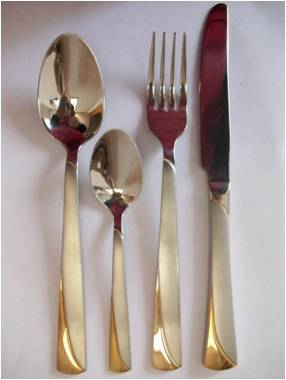 X007 Stainless steel tableware cutlery flatware