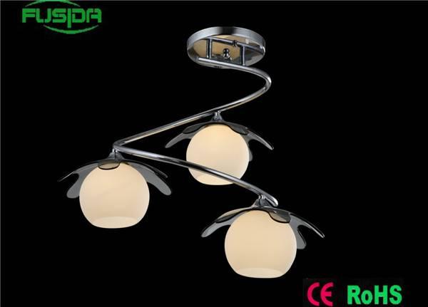 See glass dining pendant light round ball hanging pendant light clear glass globe chandelier lightin