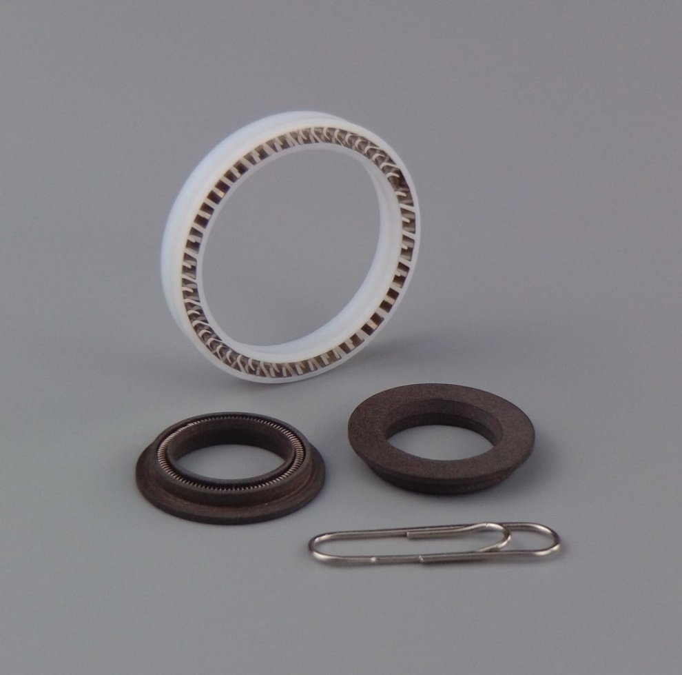 PTFE (Teflon) Spring Ring
