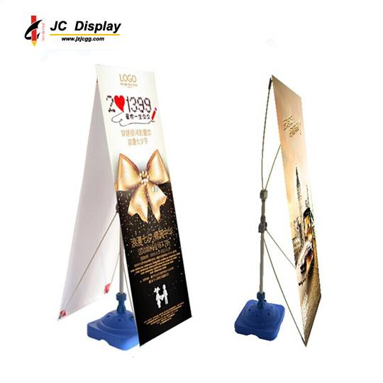 Single Sided Water Base X Banner Stand