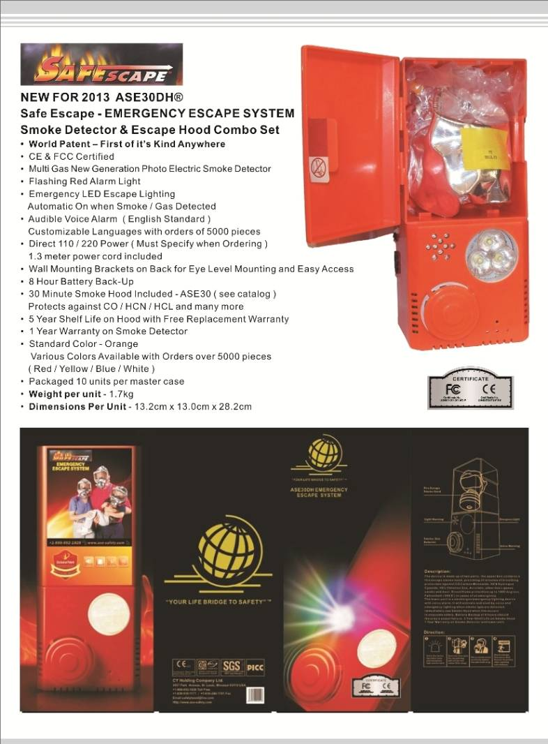 ASE30DH EMERGENCY ESCAPE SYSTEM