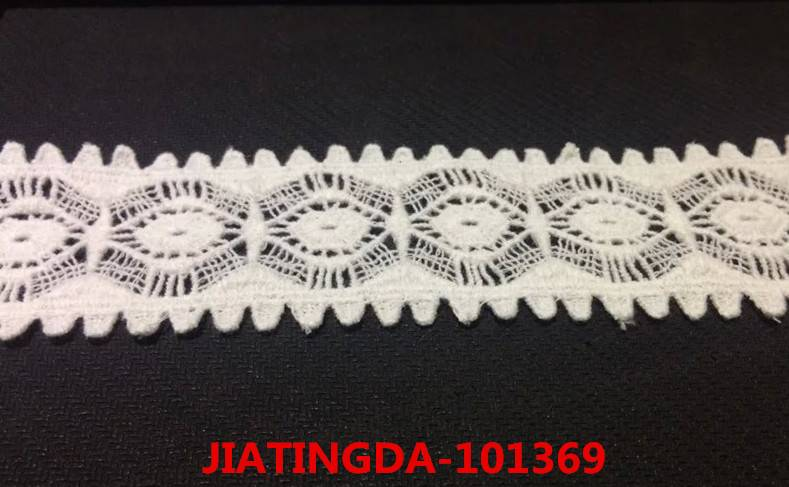 A0 101369 water-soluble cotton embroidered lace fabric