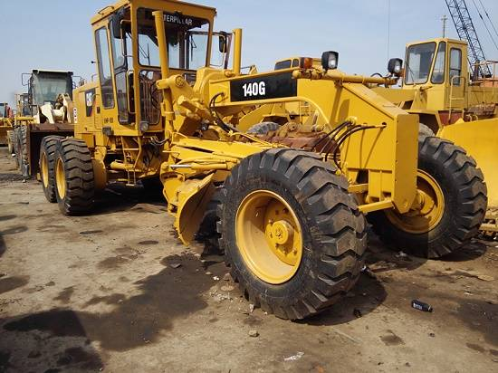 Used Motor Grader Cat 16 ,caterpillar 140G For Sale