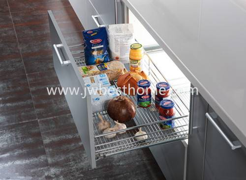 kitchen cabinet stainless steel pull out drawer basket,kitchen accessories