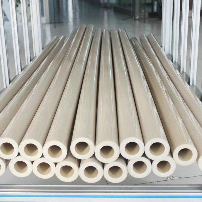 PEEK Tube Polyetheretherketone Round Pipe Tubing Piping Pipeline ICI Thermoplastic Pure PEEK450G PEE