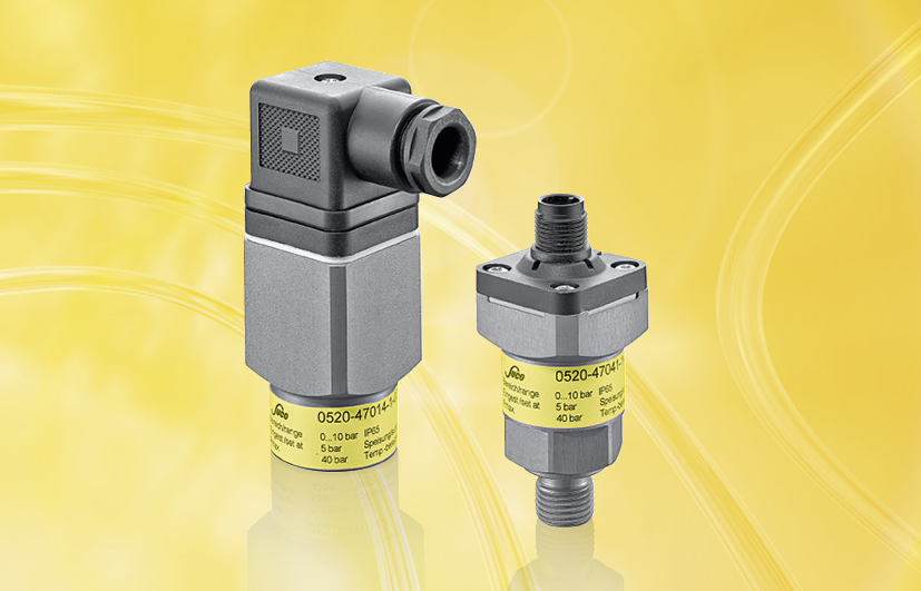 SUCO Electronic pressure switches hex 27 and 30 A/F