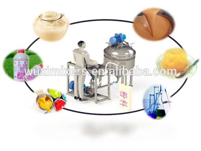 Powder Liquid Mixer Sugar Crystal Dispersing No Dust Mixing Equipment