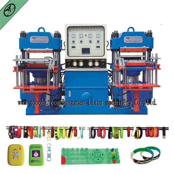 2015 New Solid Silicone Brand Forming Machine for Wristband, Phone Case, with SGS/CE