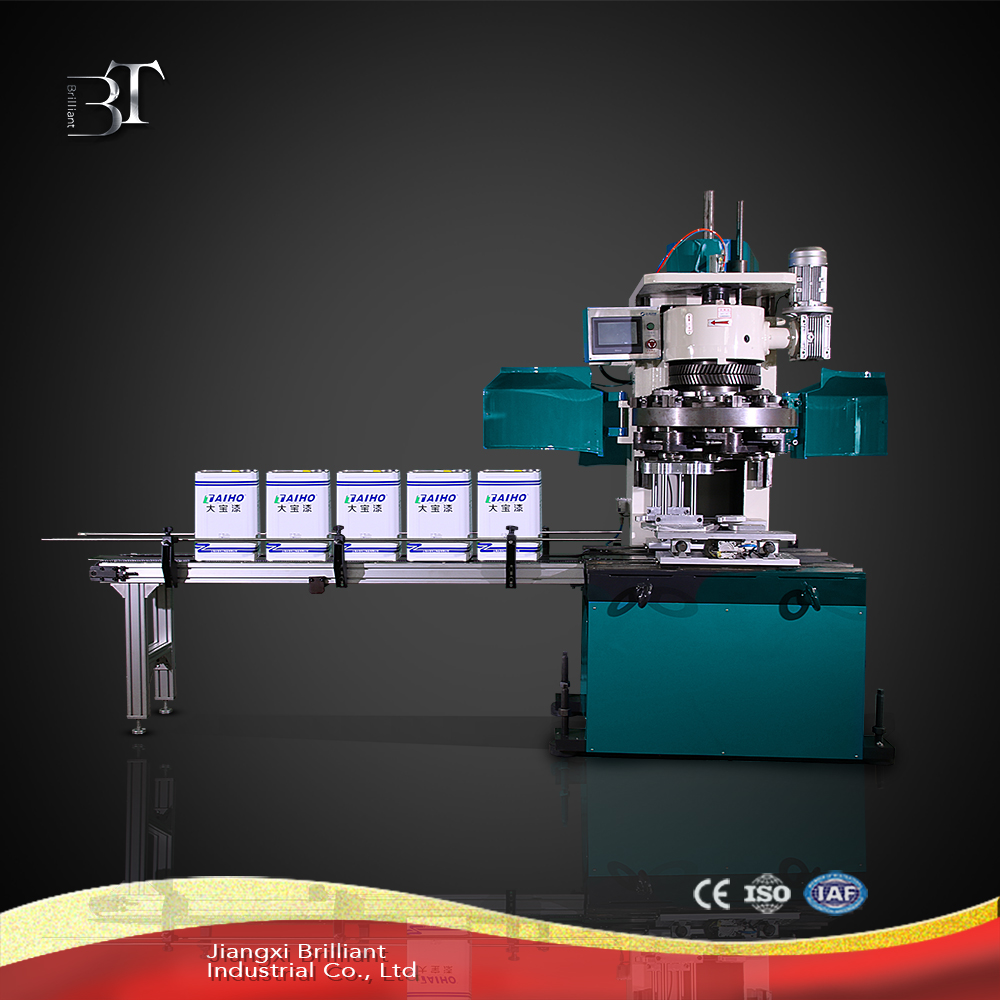 Hot sale automatic square can sealing machine