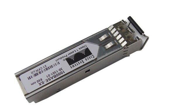 Cisco GLC-SX-MM 1000BASE-SX SFP transceiver module for MMF