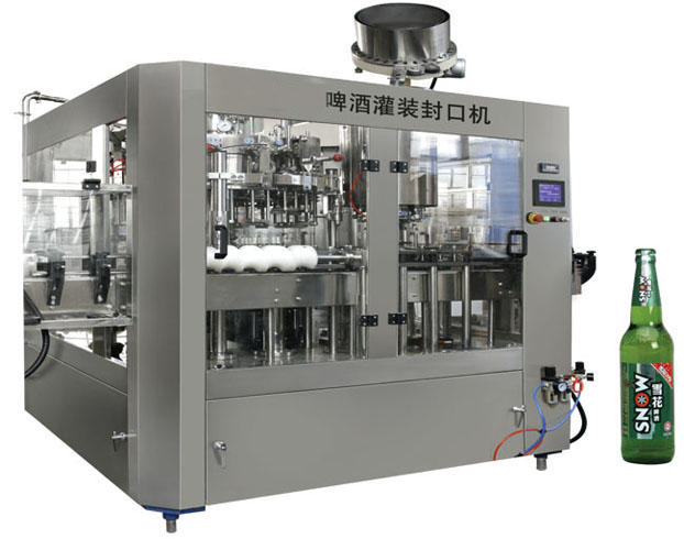 Hotsale glass bottle beer/wine filling machine