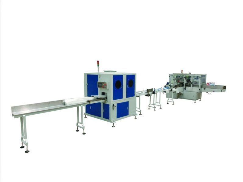 Facial Tissue Folding Machine