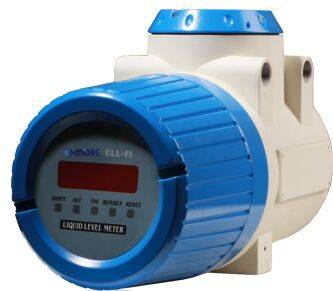 External Ultrasonic Liquid Level Meter