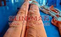 China supplier WLL200ton 200000kg endless eye-eye round sling 6:1 7:1 8:1