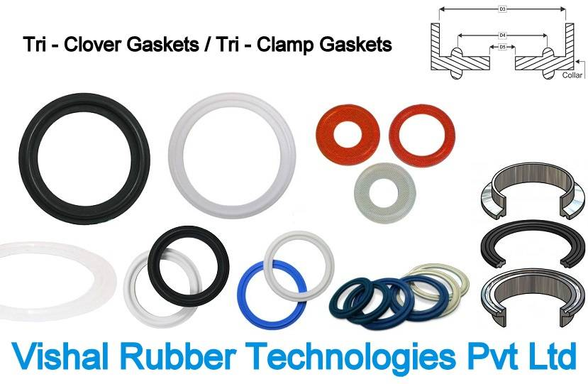 Tri Clamp Gasket With Collar