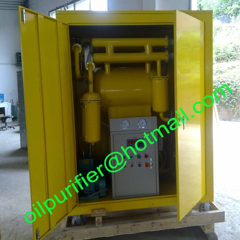 Single-stage Insulating Oil Fluids Purifier, Small Transformer Oil Filtration Plant
