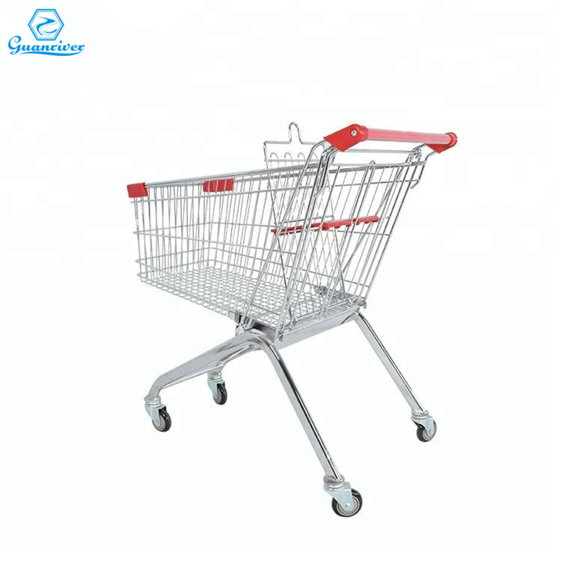 European Style Large Shopping Trolley with For Supermarket