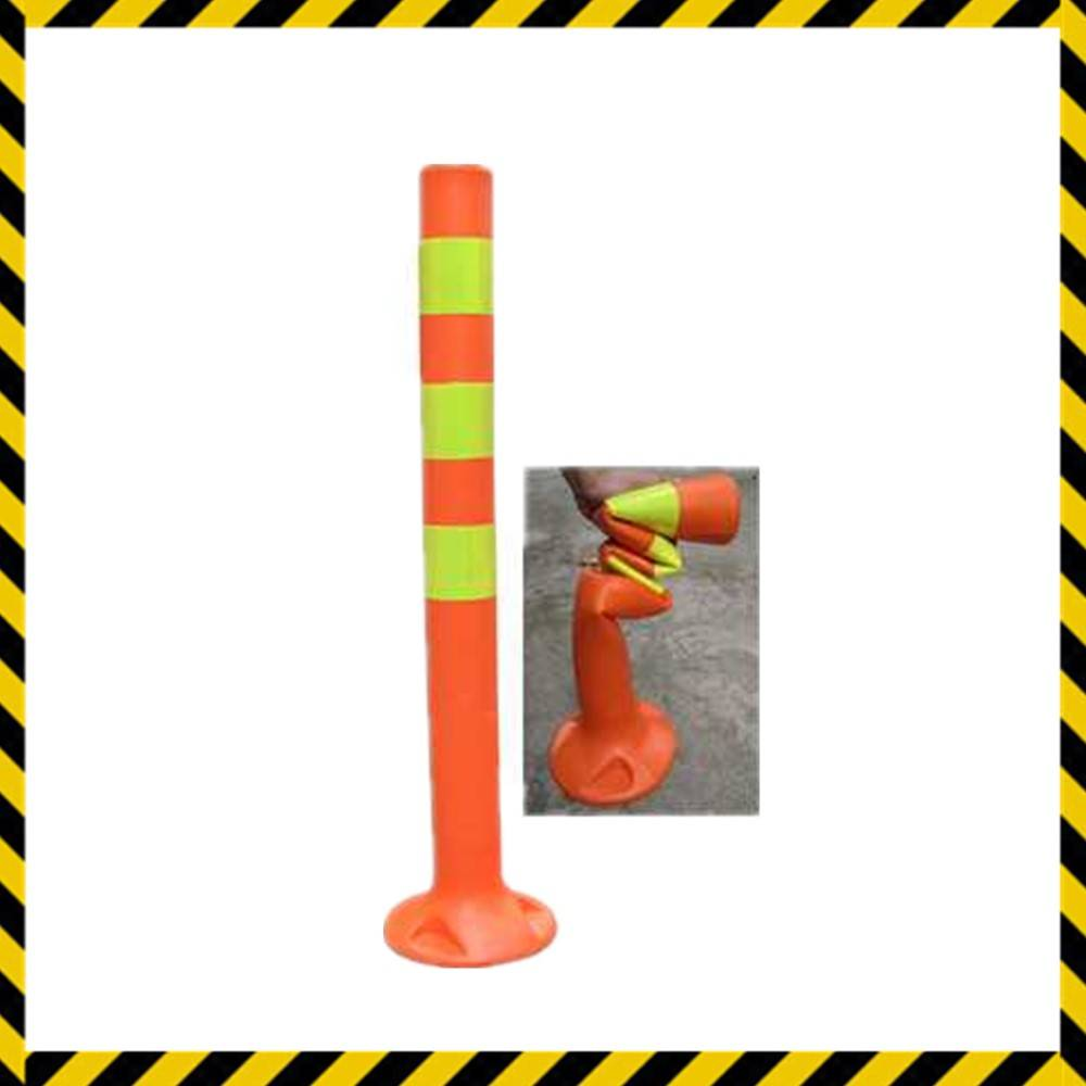 bright color plastic road barrier