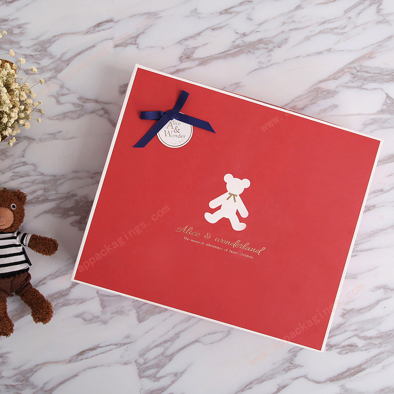 Custom size and printing luxury paper gift packaging box
