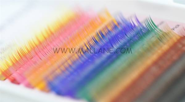Qingdao Factory Wholesale Colored Eyelash Extension