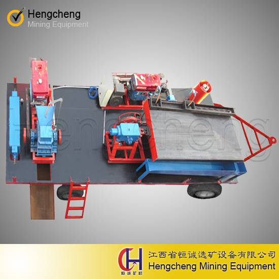 new design small gold recovery plant mobile gold mining equipment