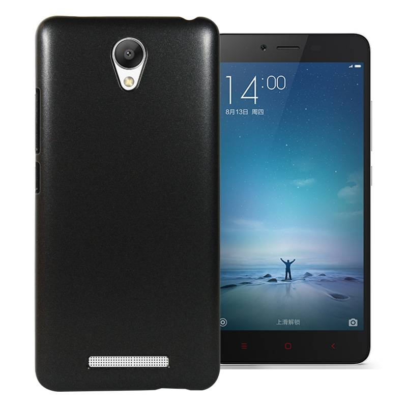 Top Quality Metallic Paint Coated Cover Case for Xiaomi Redmi Note 2
