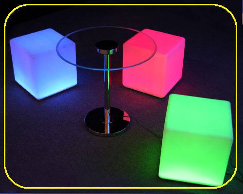 Price discount LED Party/Bar Multifunct Cube /Landscape Lamp/Led Chair /Led Cube /Led Sofa/Bar Stool