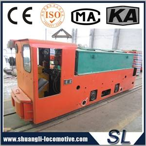 CE Certificate Battery Locomotive For Coal Mine Underground Power Equipment