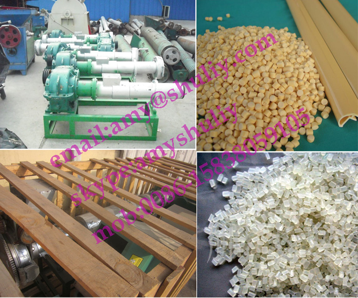 waste plastic pellet making machine/Plastic granule making machine