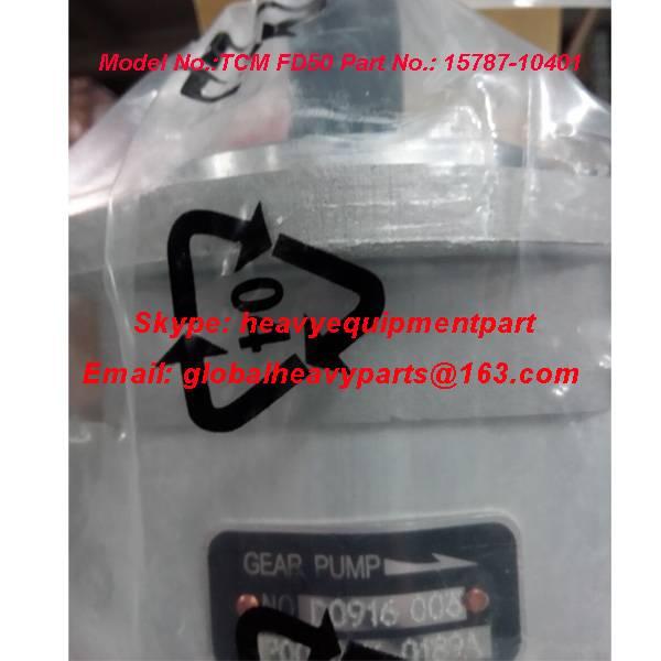 FD50-70Z7 tcm forklift hydraulic pump gear pump 15787-10401