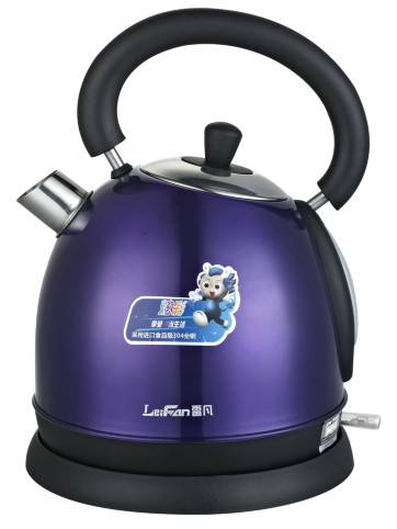 Stainless steel electric kettle 1.7L capacity