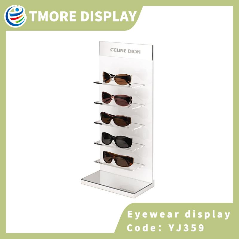 acrylic eyeglass display rack