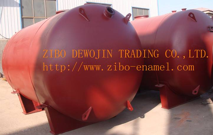 Glass lined storage tanks,single layer tanks,Products receiver,anti acied and alkali